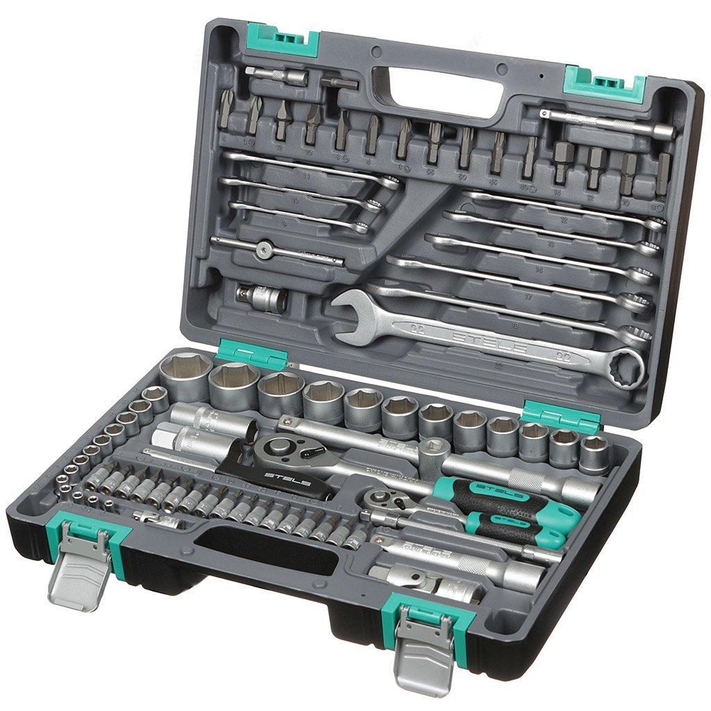 Набор слесарных инструментов Stels 14105, 82 предмета