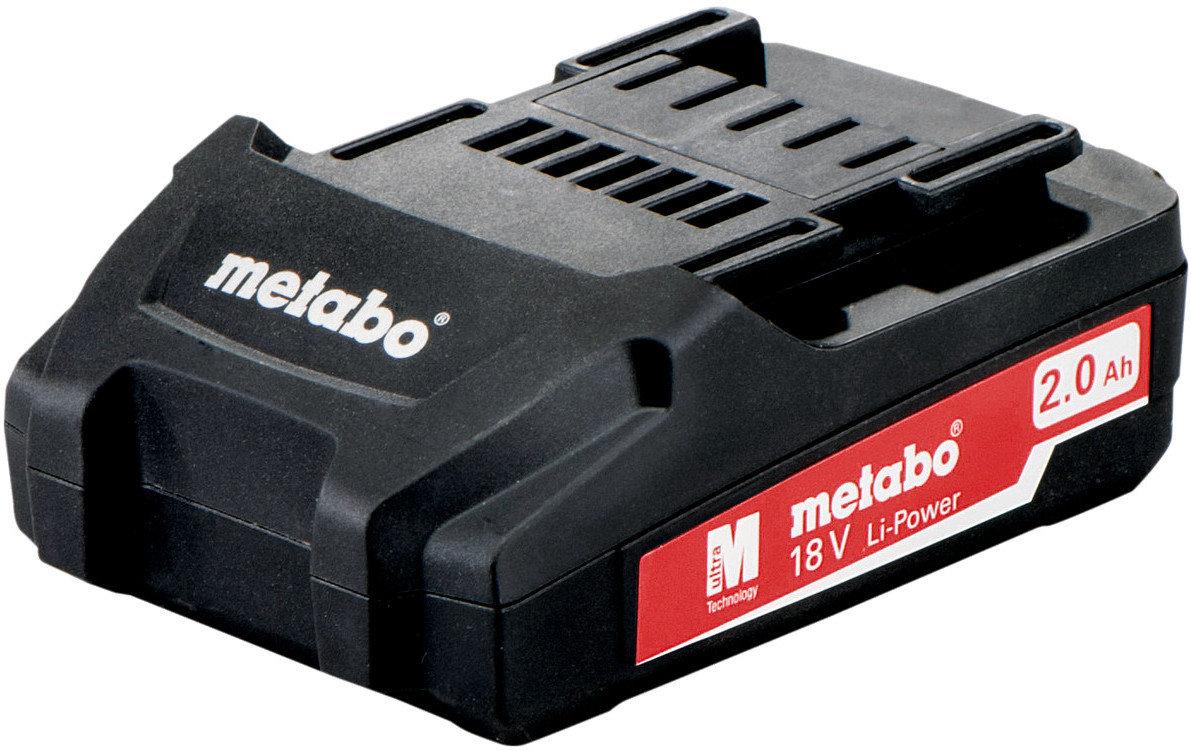 Аккумуляторы для электроинструмента Metabo 18В 2.0 Ач Li-Power