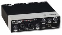 STEINBERG UR22 MKII USB аудио интерфейс, 2х2 1/4` TRS Jack аналоговых входа/выхода, 2 XLR микрофонных входа