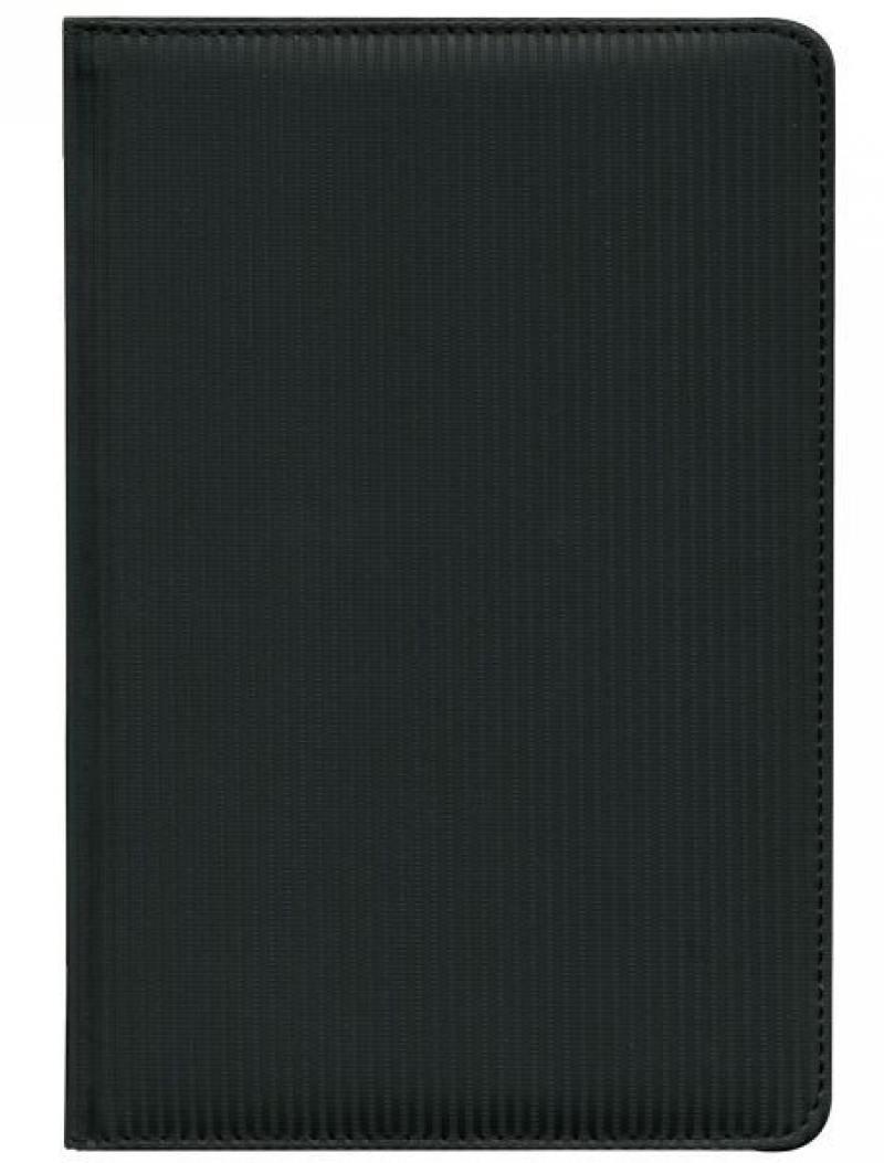 Ежедневник недатированный Index Luxe A5 искусственная кожа IDN013/A5/BK