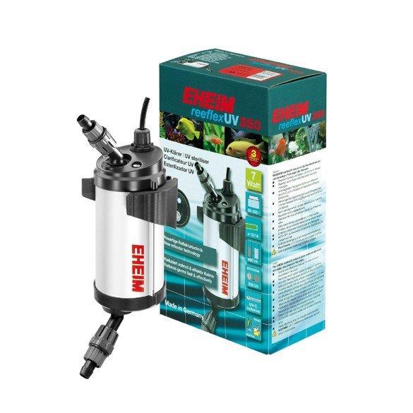 EHEIM REEFLEX UV 350 (7W) D13 - УФ стерилизатор воды для аквариумов до 350л