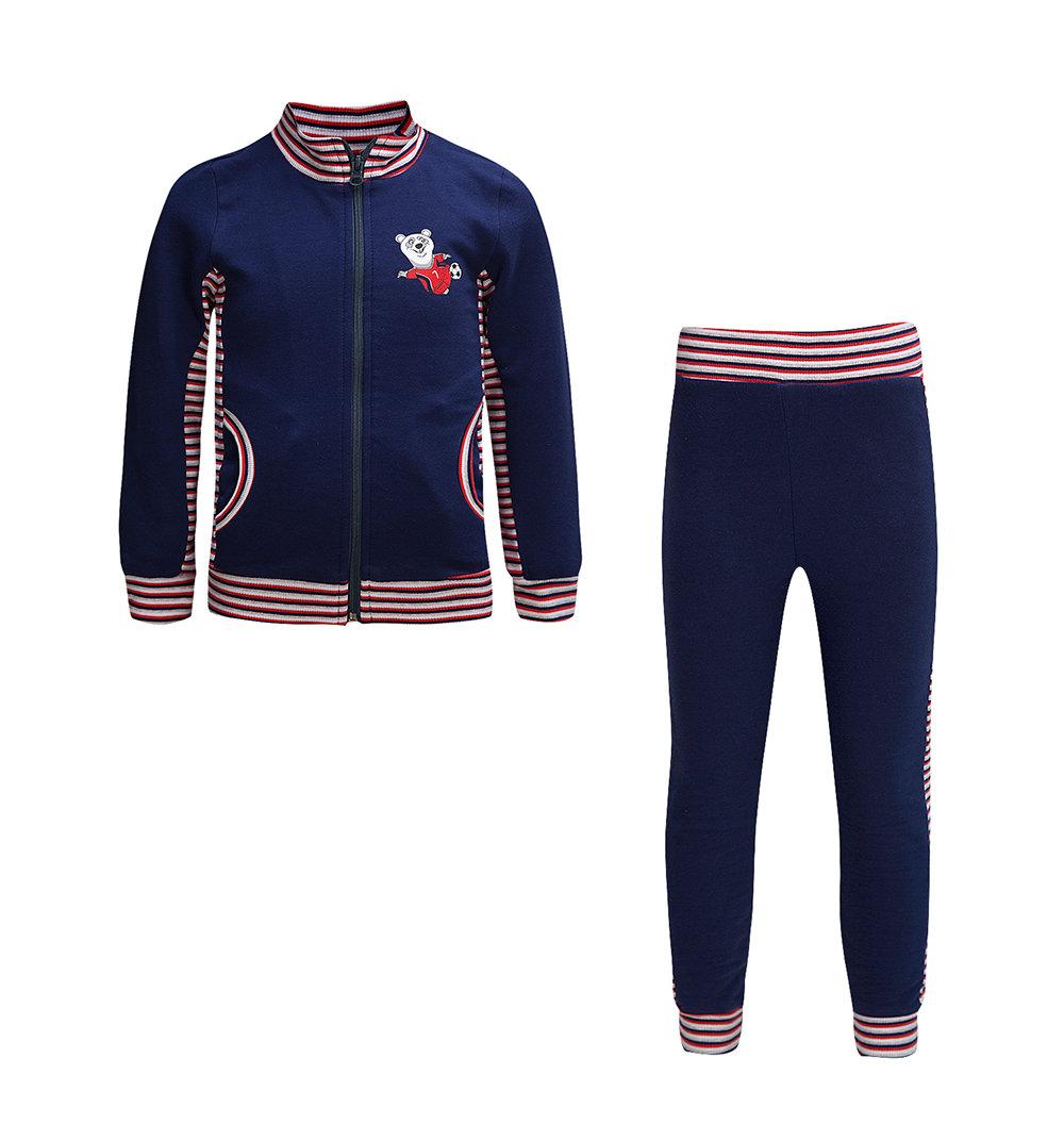 Спортивный костюм кофта/брюки Leader Kids ', цвет: синий
