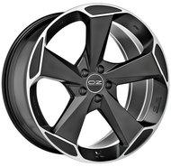 Колесные литые диски Oz Racing ASPEN HLT 9x20 5x114.3 ET40 D67.04 Чёрный матовый с полированной лицевой частью (W01A0200554) - фото 1