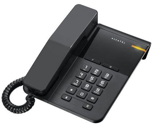 Телефон проводной Alcatel T22 black