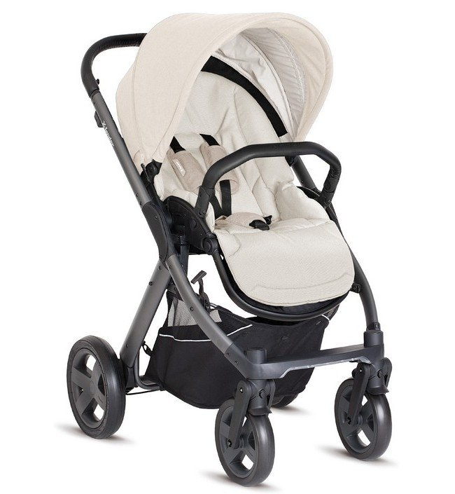 Коляска Детская прогулочная коляска X-Lander X-Pulse Daylight beige с надувными колесами