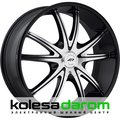 American racing AR897 8.5x20/5x114.3 D72.62 ET38 Black_machined - фото 1