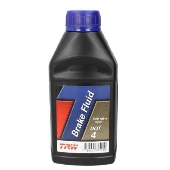 Тормозная жидкость TRW DOT 4 0,5л (PFB450)