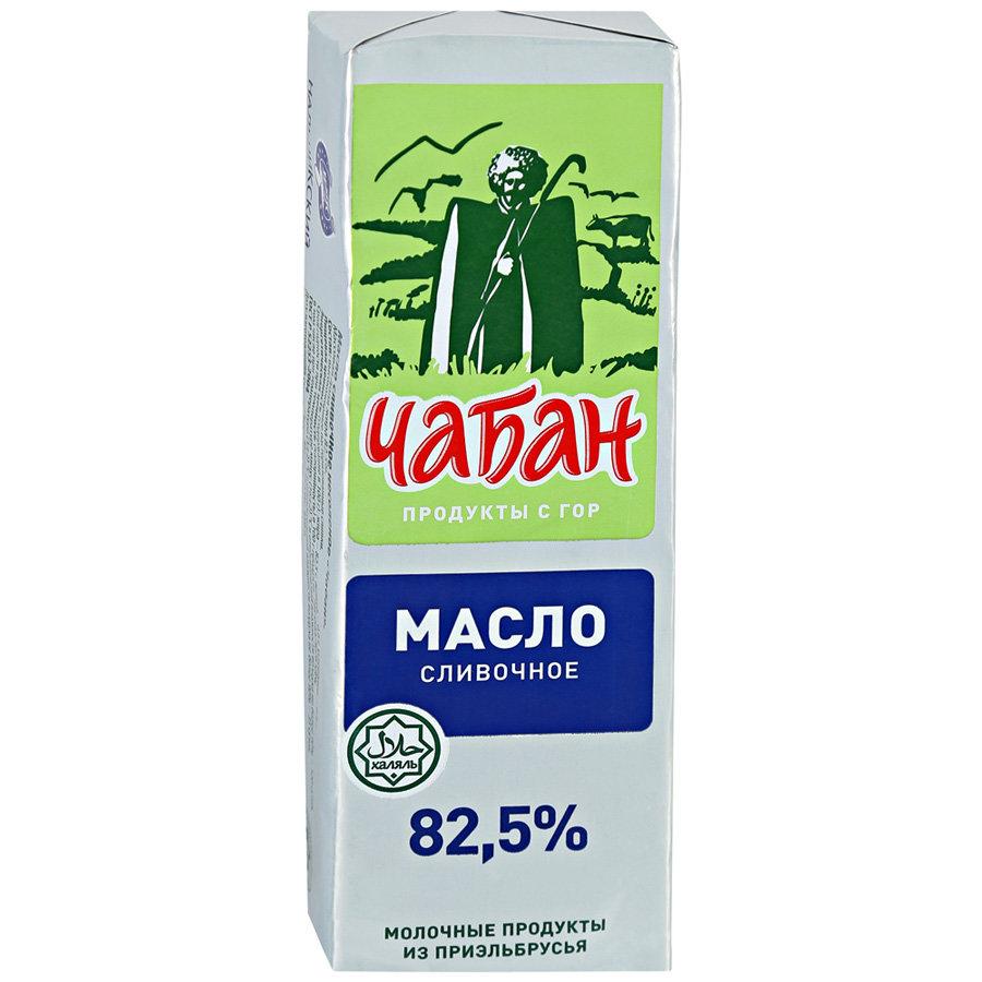 Масло сливочное Чабан Халяль 82,5%, 450г
