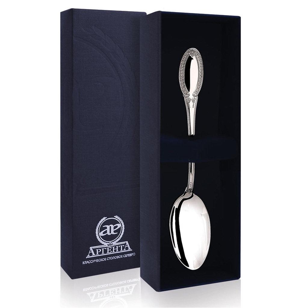 Серебряная чайная ложка «Император»