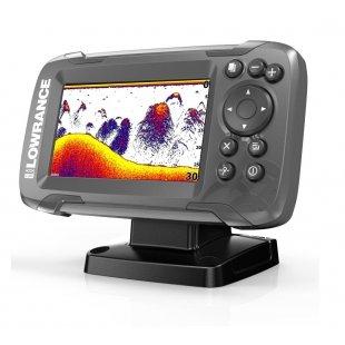 Эхолот-картплоттер Lowrance HOOK2-4x GPS Bullet