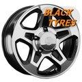 Диск колесный LS Wheels 797 7x16/5x139.7 D98.5 ET30 BKF - фото 1