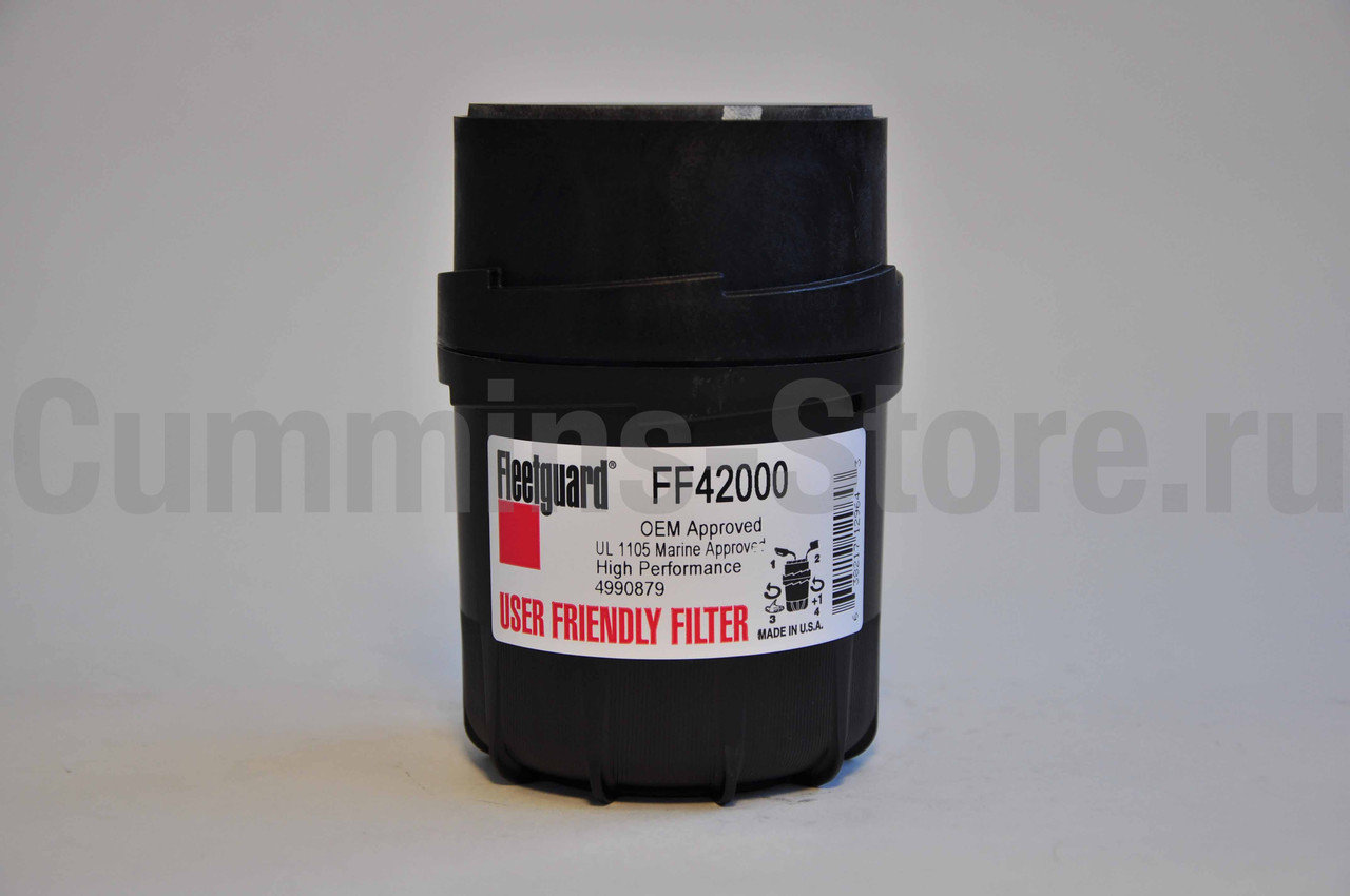 Топливный фильтр Флитгард / Fuel Filter Fleetguard FF42000 / Cummins 4990879 3931065 3903640 3931063