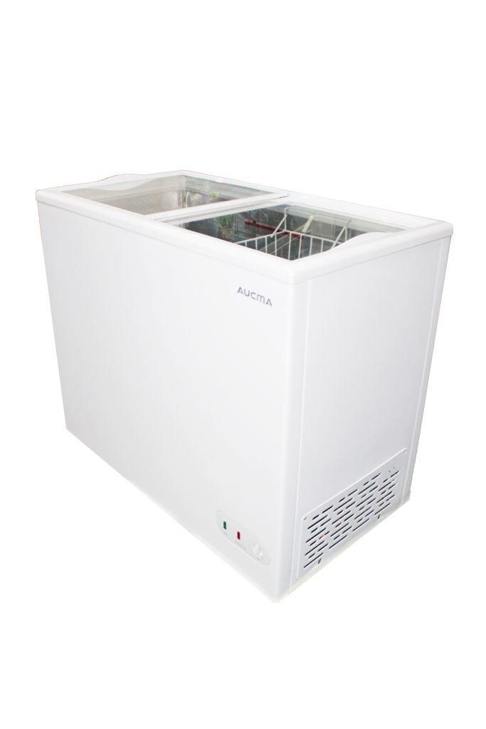 Ларь Aucma морозильный SD-205 стеклянные створки
