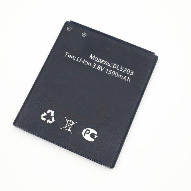 Аккумулятор BL5203 для Fly IQ442 Quad Miracle 2