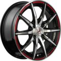 Колесный диск NZ Wheels F-18 (BKPRS) 5.5xR13 ET35 4*98 D58.6 - фото 1