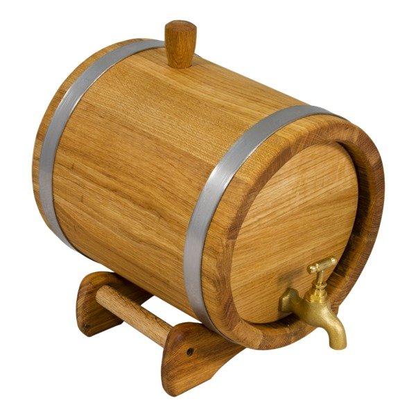 Дубовая бочка 5 л Стандарт, кавказский дуб — купить по выгодной цене на Яндекс.Маркете