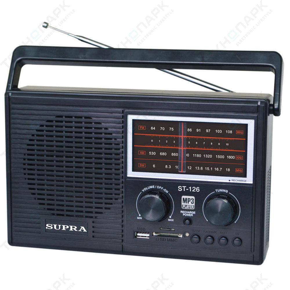 Радиоприемник Supra ST-126
