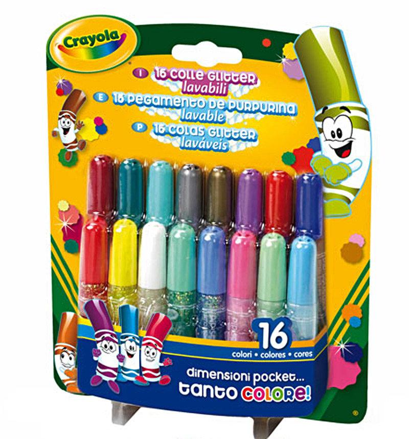 Клей Crayola блестящий