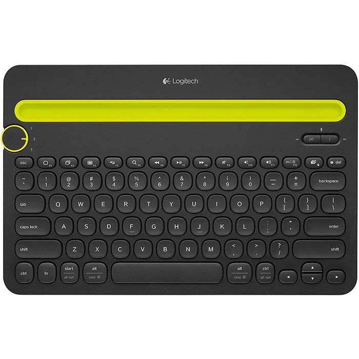 клавиатура универсальная Logitech Bluetooth Multi-Device Keyboard K480 (920-006368)