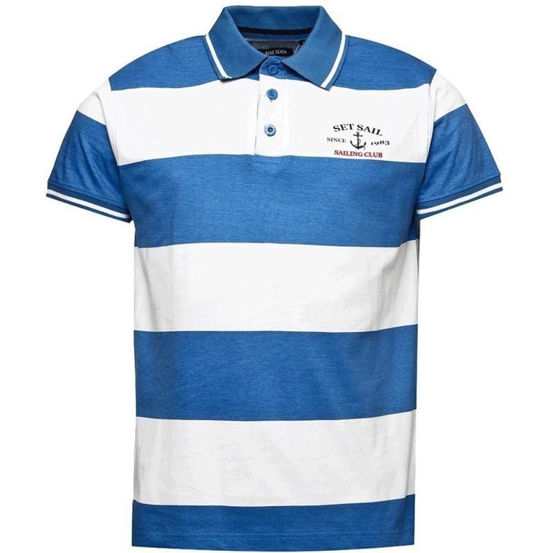 blue corner polo shirt color