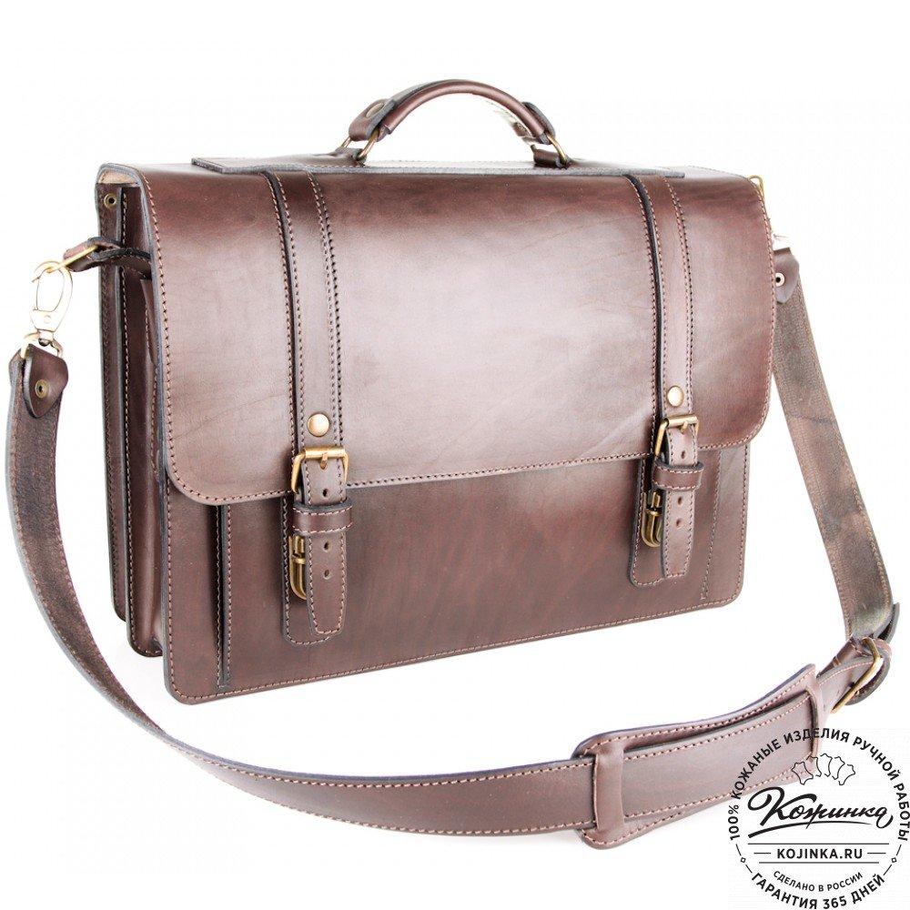 dfcabe7d0436 ... Кожаный портфель ручной работы