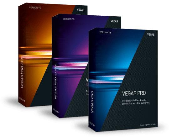 SONY VEGAS Pro 15 - ESD (ANR007738ESD)