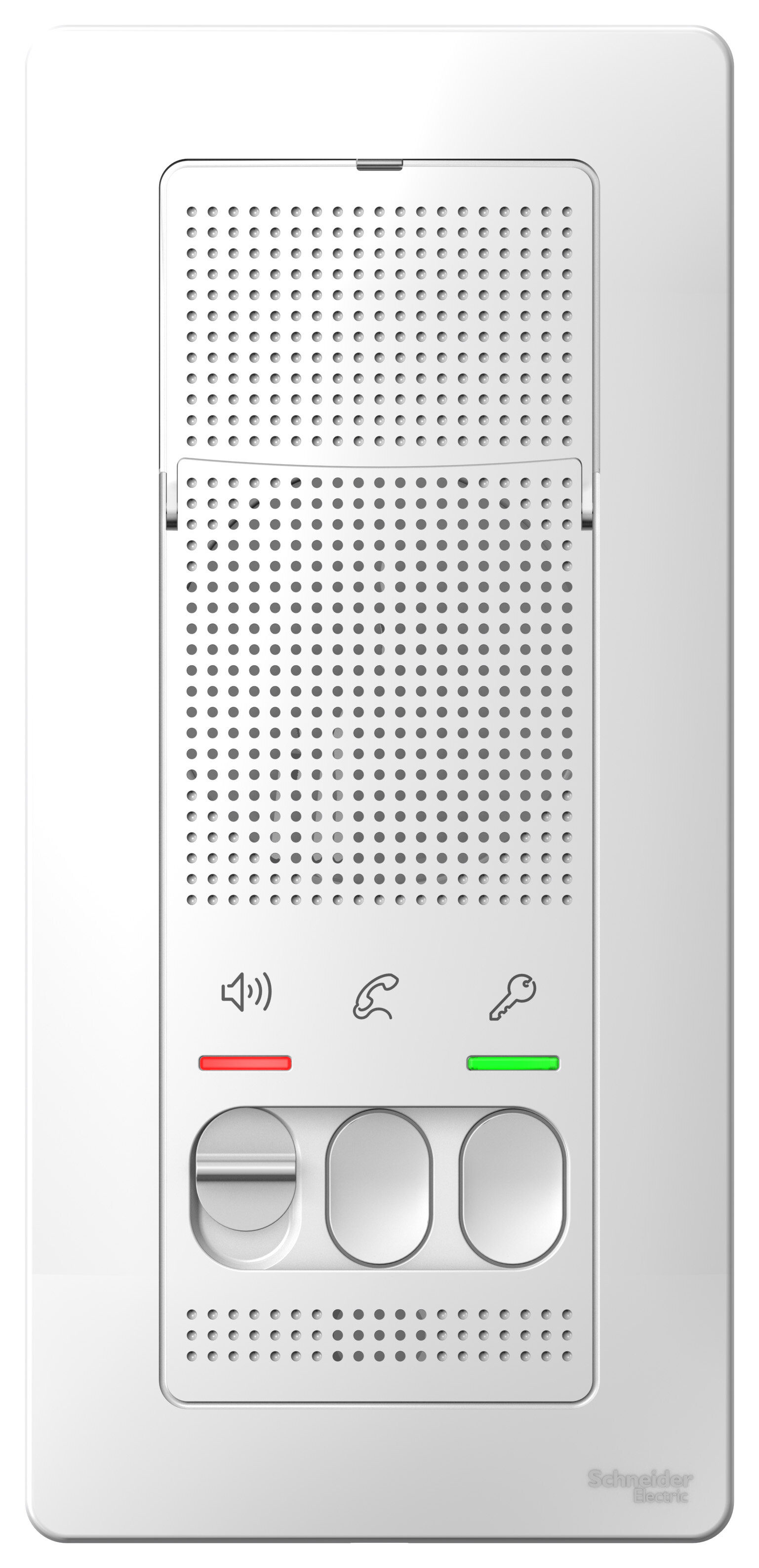 Домофоны/Видеодомофоны Blanca переговорное устройство (домофон), настен.монтаж, 4,5в, белый Schneider Electric