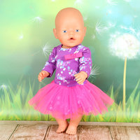 0ee4579cab1 Набор одежды фиолетово-розовый боди с длинным руковом