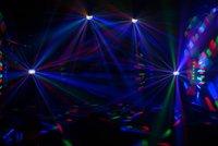 CHAUVET-DJ Mini Kinta LED IRC светодиодный многолучевой эффект.