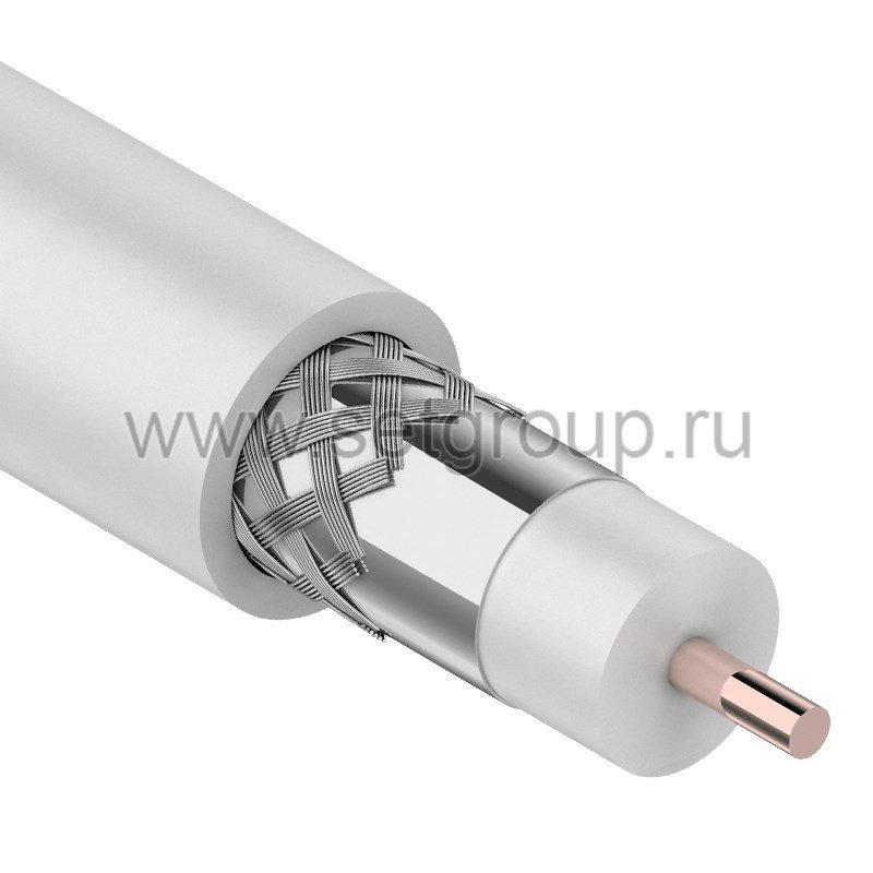 Кабель RG-11U (75 Ом) 305м белый REXANT, (упак: 1/1), артикул: 01-3001