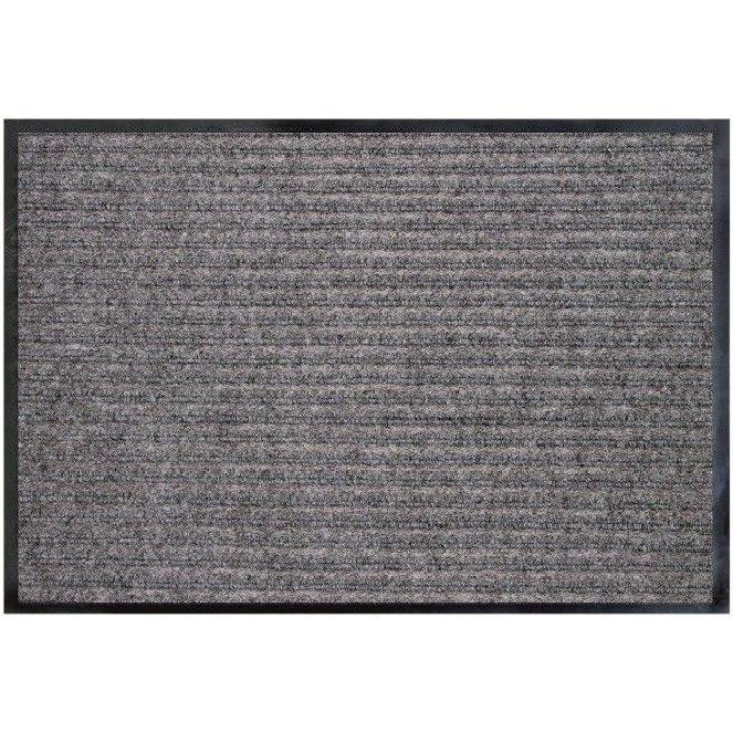 Коврик влаговпитывающий Double Stripe Doormat серый 90х150 см