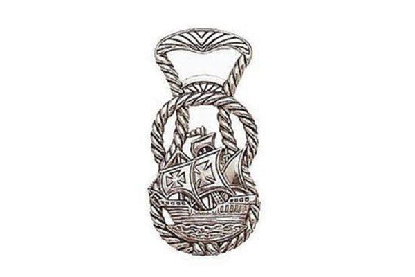 Открывалка для бутылок Яхта. Коллекция Gift («замак», никель, лак; AD518P2CPA)