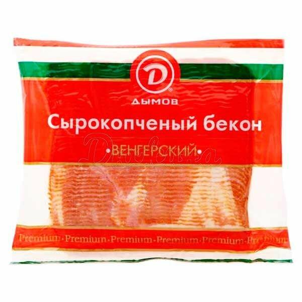 Бекон Дымов Венгерский 500 г x 1 шт