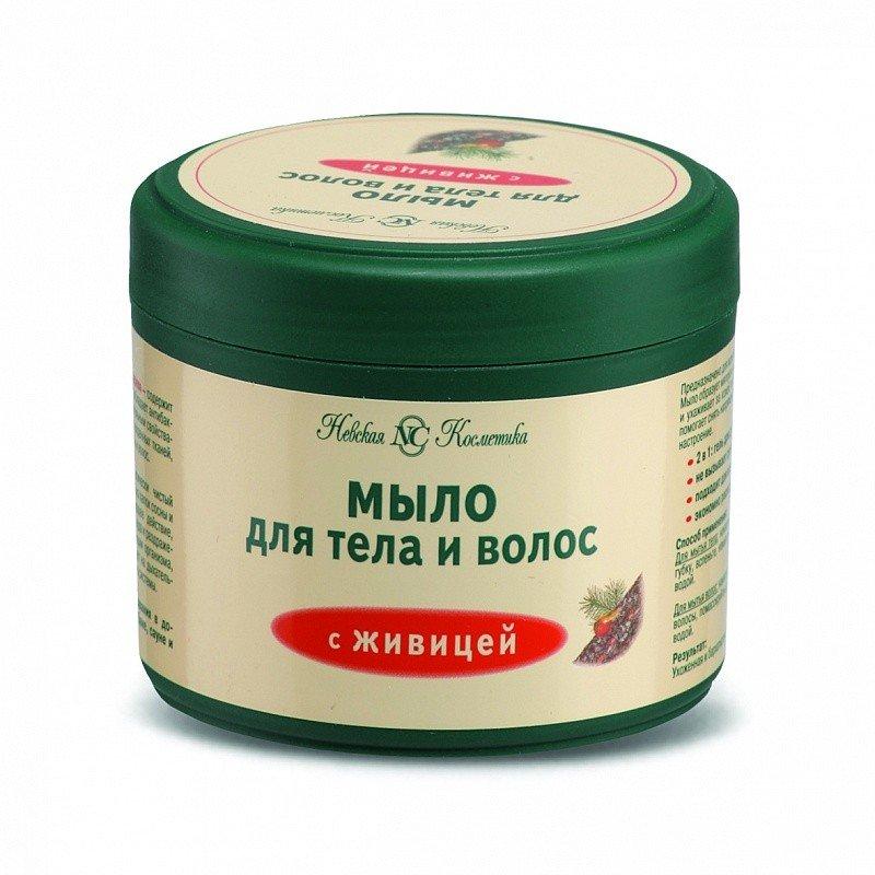 Мыло для тела и волос с живицей, 300 мл