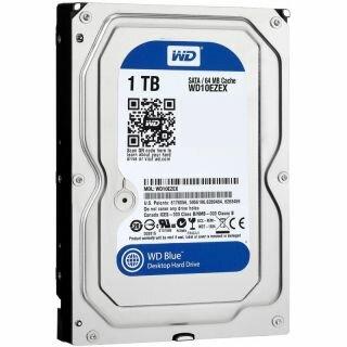 Жесткий диск WD Caviar Blue SATA-III/1Tb/7200rpm/64Mb/3.5 (10EZEX)