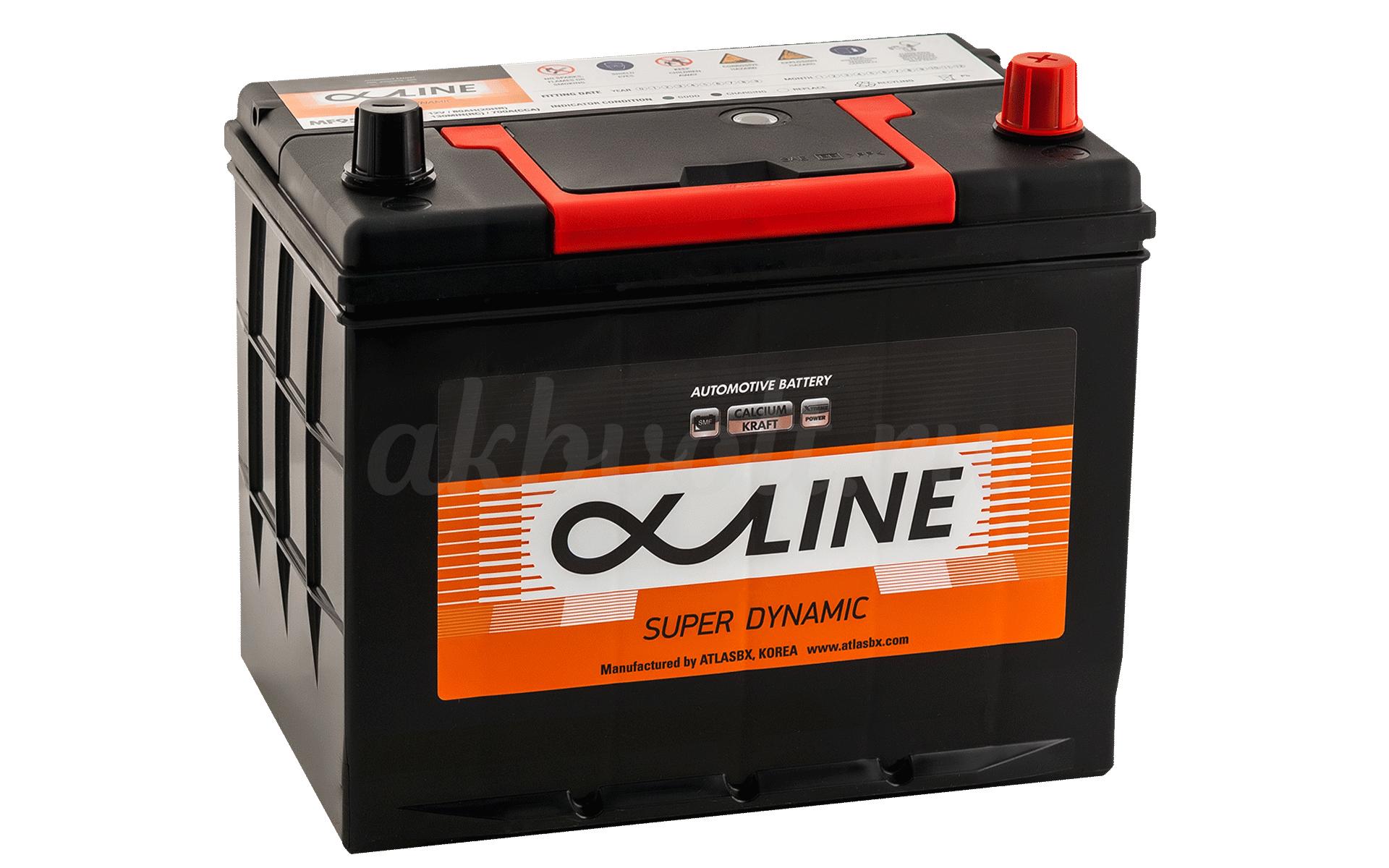 Аккумулятор ALPHALINE 80Ач обратная полярность SD95D26L