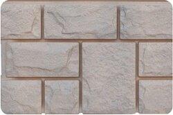 Фасадная панель (цокольный сайдинг) Grand Line Екатерининский камень Железо