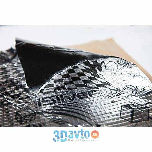 Шумоизоляционный материал STP (GB) iSilver
