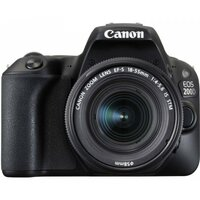 Зеркальный фотоаппарат Canon EOS 200D Kit 18-55 IS STM