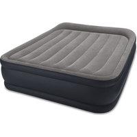 Надувная кровать Intex 64132 Deluxe Pillow Rest Raised Bed 99х191х42см, встроенный насос 220V