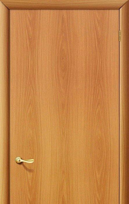 Межкомнатная дверь Гост Л-12 (МиланОрех) (Дверь Ламинированная)