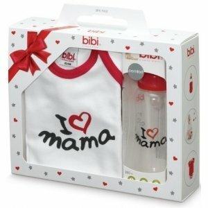 Bibi Подарочный набор для новорожденного I love Mama