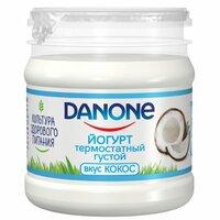 Йогурт данон термостатный Кокос 3,3% 160г