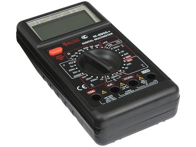 Инструмент мультиметр Мастер Professional M-890G