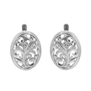 Серебряные серьги Уран Саха арт. USE030