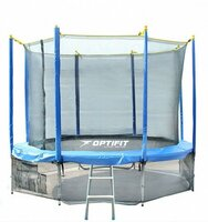 Батут Optifit Like Blue 12Ft - фото 1