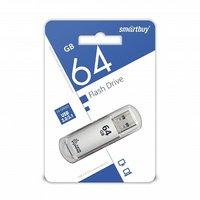 USB флешка 64Gb SmartBuy V-Cut silver USB 3.0