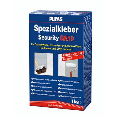 PUFAS Обойный клей Специальный усиленный клей - Security GK10 1 кг