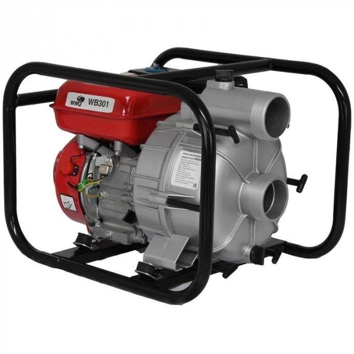 Мотопомпа на бензиновом двигателе WWQ WP201