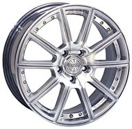 Racing Wheels H-423 6.5x15 5x114.3 ET 40 Dia 73.1 BK F/P - фото 1
